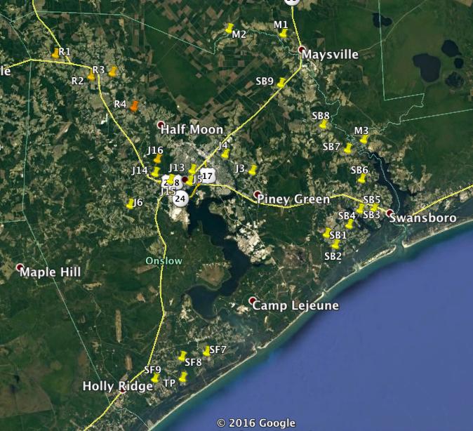 Onslow Water Quality Monitoring Program | North Carolina