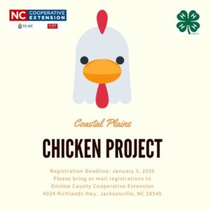 Cover photo for 2020 Coastal Plains Chicken Project