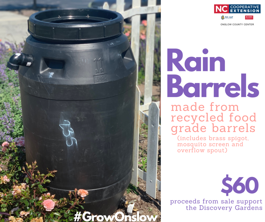 rain barrels sale flyer