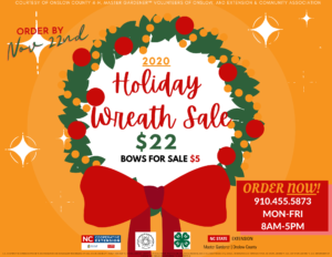 Cover photo for Holiday Wreath Sale 2020