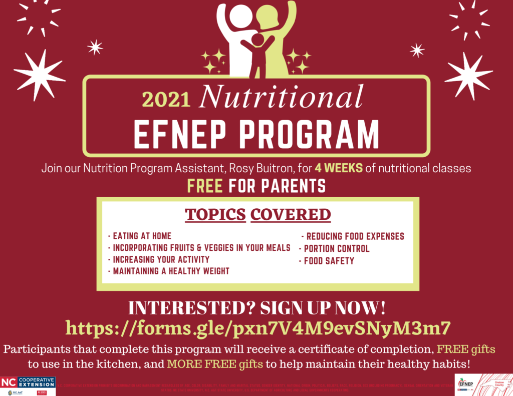 EFNEP Program banner