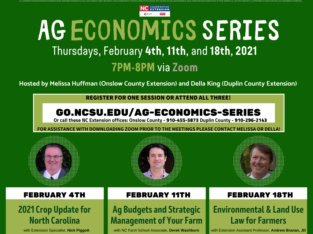 AG Economics Series flyer