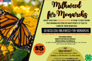 Cover photo for Milkweed for Monarchs