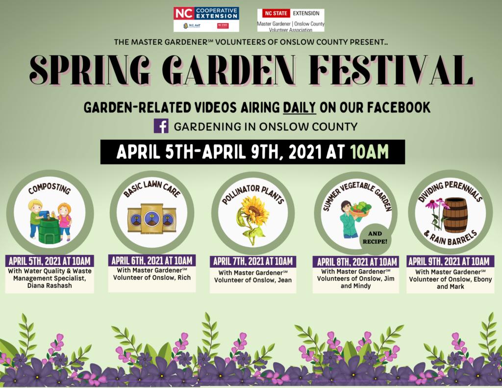 Spring GardenFestival flyer image
