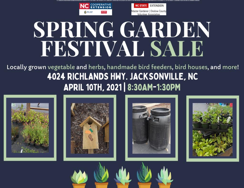 Spring Garden Sale flyer image