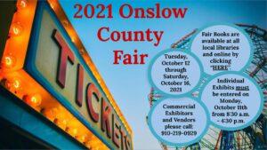 2021 Onslow County Fair Banner
