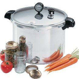Cover photo for Selecting a Pressure Canner